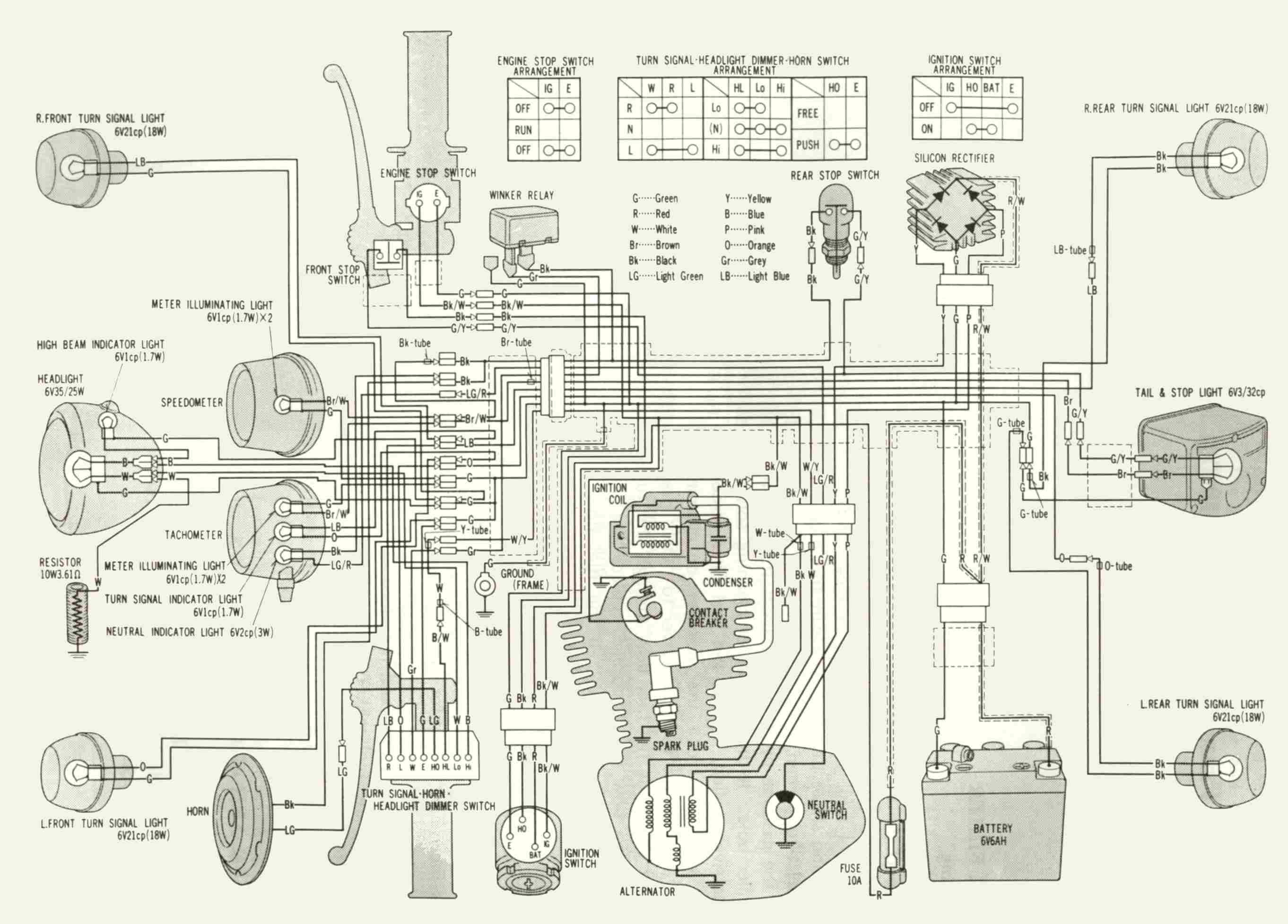 1972 Honda Ct 70 Wiring Diagram