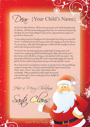 Personalized Message from Santa