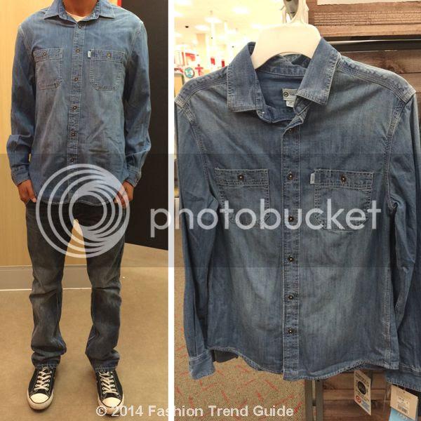 Toms for Target-Mens Denim Shirt