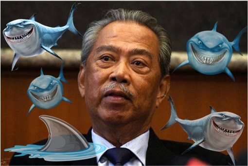 Muhyiddin Yassin - Surrounded By Sharks