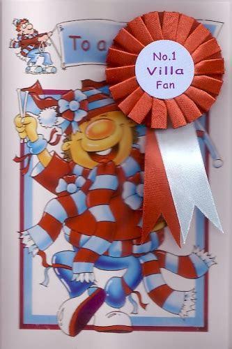 Aston Villa Football Club Happy Birthday Personalised