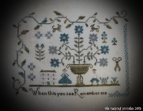 Forget Me Not Sampler 2