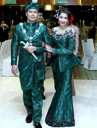 13 Inspirasi iBajui Pengantin Tradisional Perkahwinan