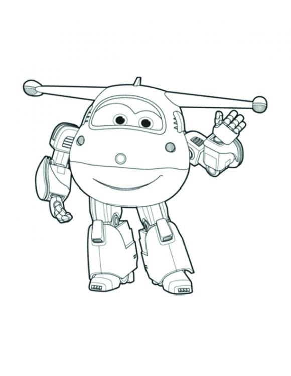 Super Wings Coloring Pages At Getdrawingscom Free For Personal