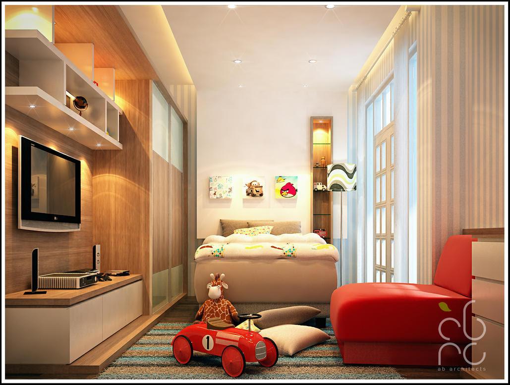 kamar anak laki-laki by okamiammaterasu on DeviantArt