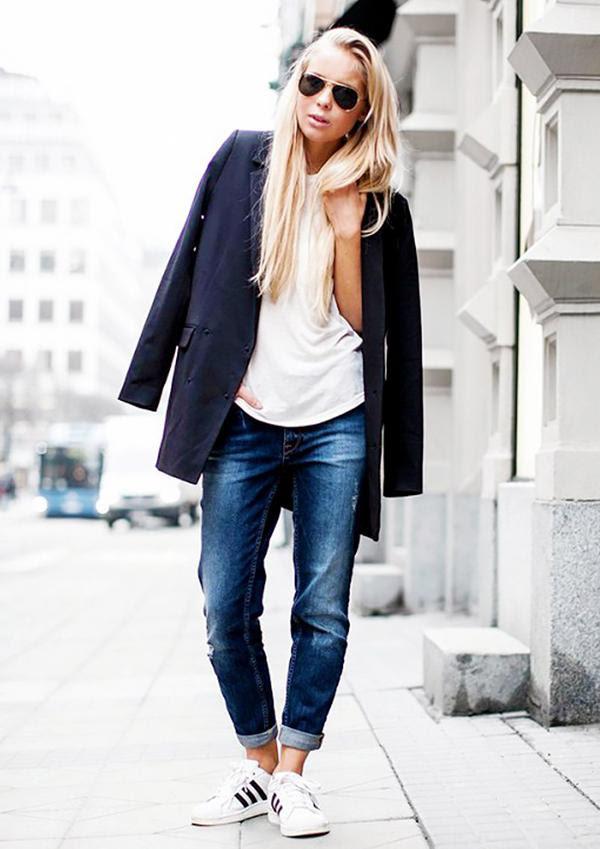 7 truly genius ways to wear boyfriend jeans  whowhatwear