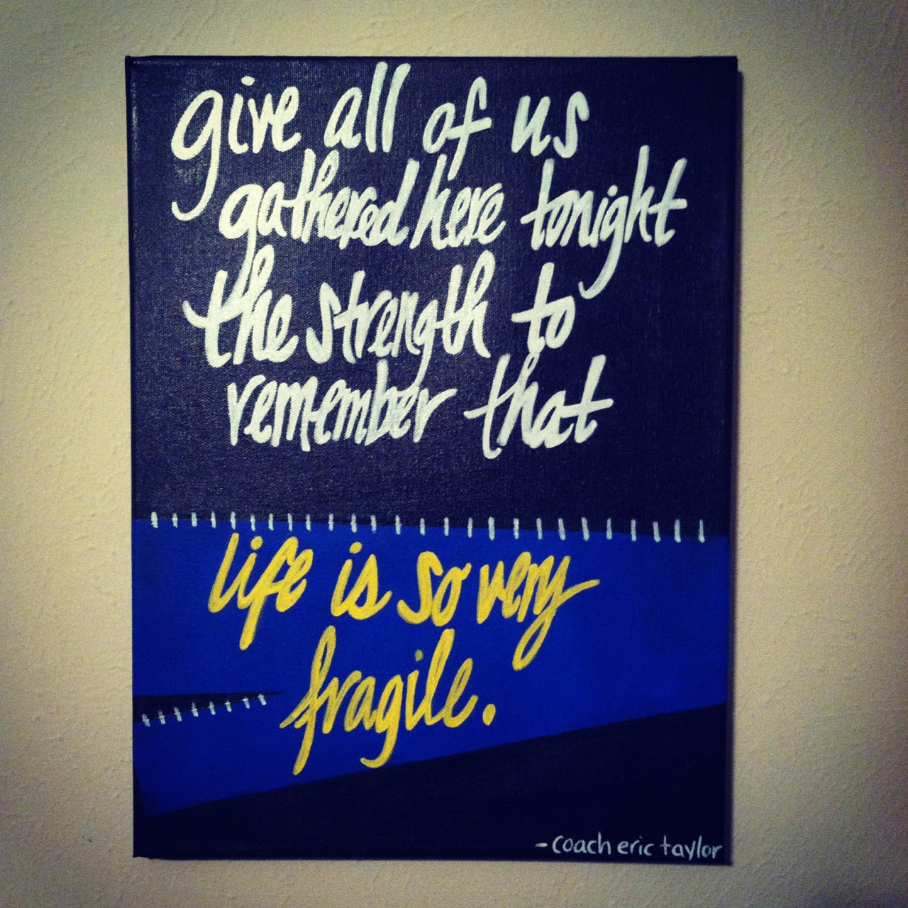 Quotes About Friday Night Lights 46 Quotes