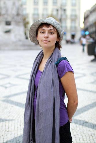Uma italiana em Lisboa