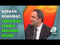 """Serkan Korkmaz:""""Bu Seçim Galatasaray Tarihinin En Tahmin Edilemez Seçimi"""" / A Spor / Spor Ajansı - A Spor"""