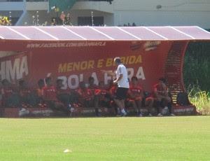 Dorival junior Flamengo (Foto: Janir Junior)