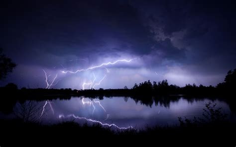 lightning wallpapers  pc desktop full hd pictures