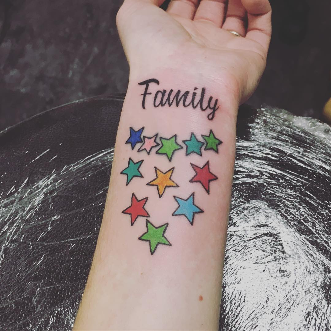 55 Best First Family Tattoo Ideas For Men and Women (2019)