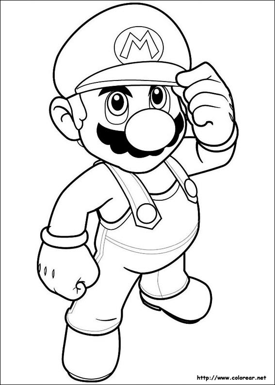 Dibujos De Super Mario Bros Para Colorear En Colorearnet