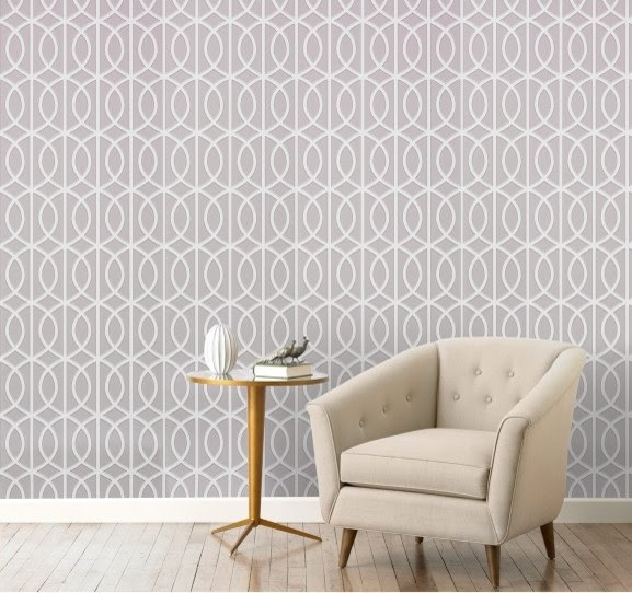 Gate Dove Wallpaper - Modern - Wallpaper - by DwellStudio