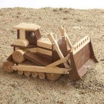 Bulldozer Construction Grade Model Woodworking Plan - fee plans from WoodworkersWorkshop® Online Store - wooden model,bulldozers,heavy equipment,full sized patterns,woodworking plans,woodworkers projects,blueprints,drawings,blueprints,how-to-build