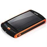 MATECH モバイルバッテリー 大容量 23000mAh ソーラーパネル搭載 ( ノートパソコン / iPhone / iPad / スマホ 対応) (5V 12V 16V 19V 電圧切替) Acer/Asus/Dell/HP/Toshiba/iPad/iPhone/Galaxy (1年保証)
