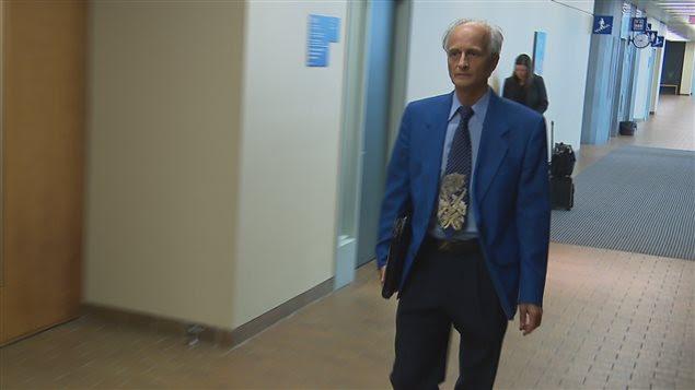 Jean-Paul Lavoie au palais de justice de Québec