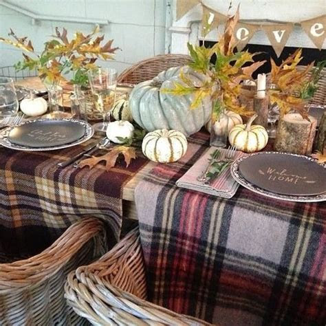 25 Plaid Fall Décor Ideas For A Cozy Touch   Shelterness