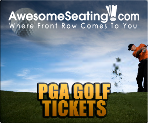 PGA Golf tickets