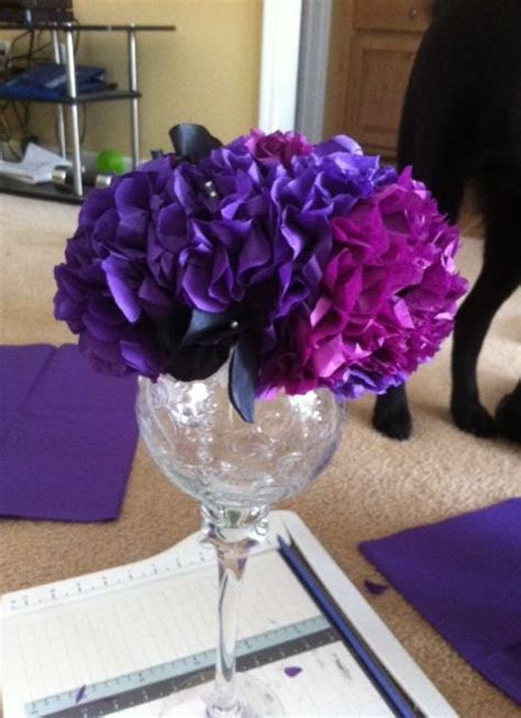 17 Best ideas about Tissue Paper Centerpieces on Pinterest