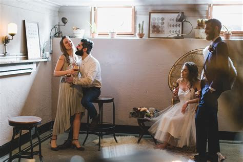 A Brooklyn Wedding Shoot at Glasserie in Greenpoint
