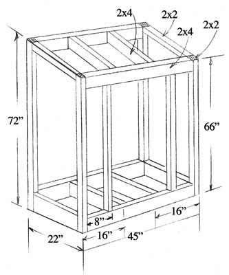 Buy 10x12 gable shed plans blueprints | Issa