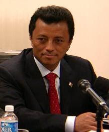 Marc Ravalomanana, President of Madagascar at ...