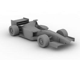 Formula One Car 3d Model Free Download Cadnavcom - f1 car 3d model free download