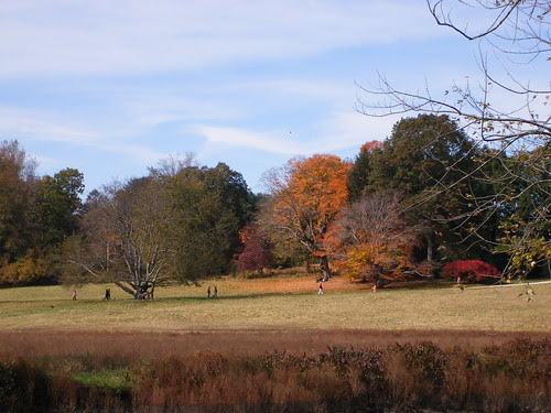 Fall Colors at Minute Man National Park in Concord, MA
