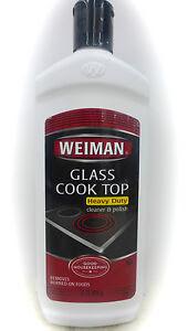 WEIMAN GLASS COOK TOP Cleaner & Polish HAVY DUTY   eBay