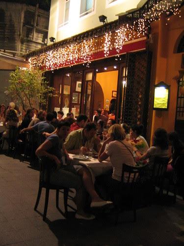 Sofyali 9, the meyhane where we had dinner in the Beyoglu district of Istanbul