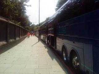 Buses, taken by Alex
