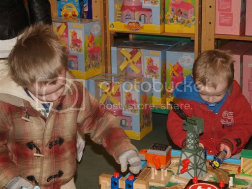 Connor & Cameron at the Early Learning Center