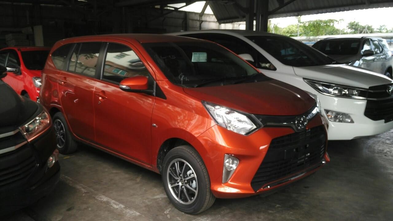 Kumpulan Modifikasi Mobil Calya Orange Terbaru Rekanotomotif