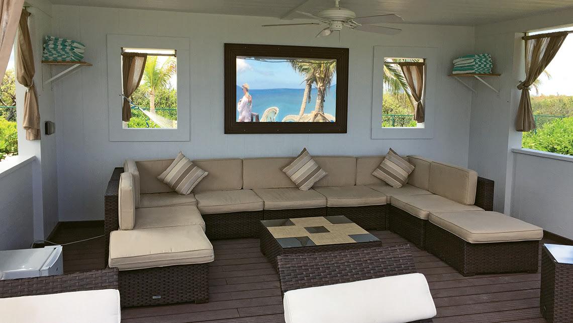 A cabana at Great Stirrup Cay. Photo Credit: TW photo by Tom Stieghorst