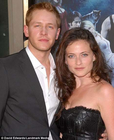 Love split: Lara Pulver, and her Hollywood actor husband Joshua Dallas, 30, have separated. They married in 2007