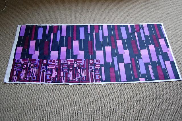 Printed swimsuit panel
