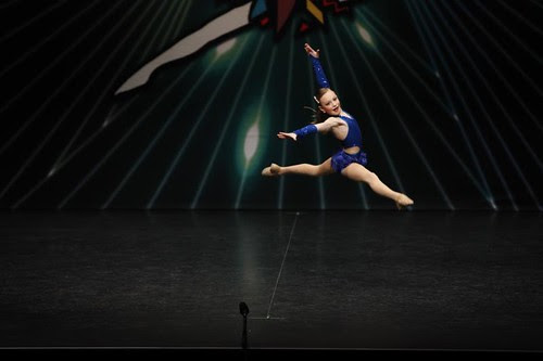 Leah's first solo dance