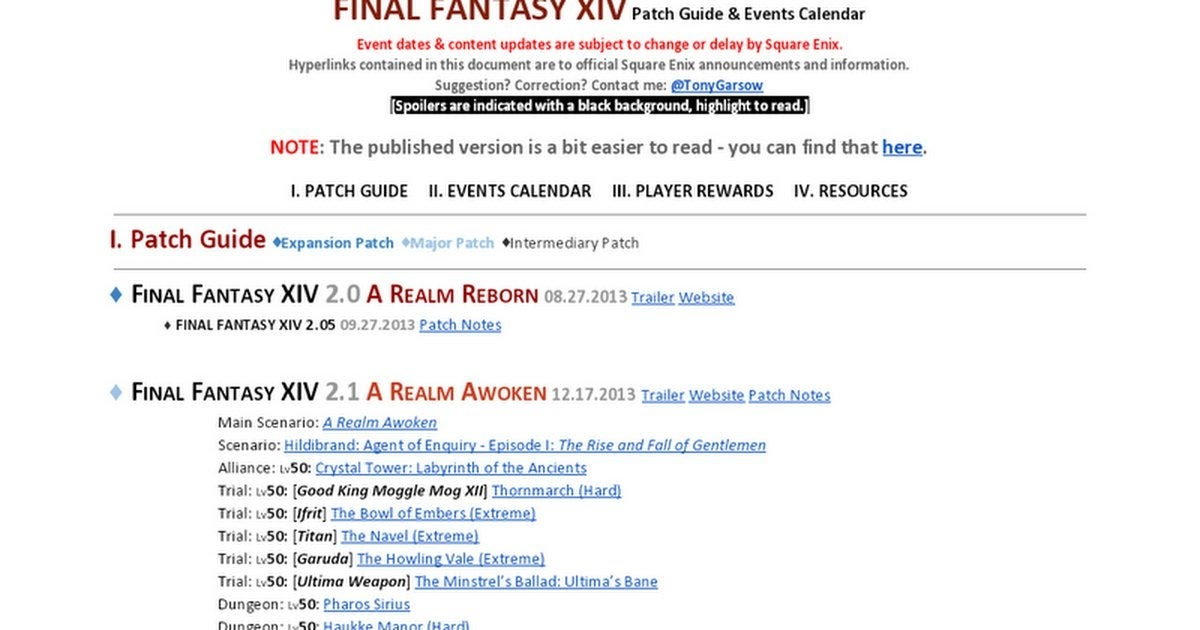 2022 Calendar: Ffxiv Event Calendar 2021