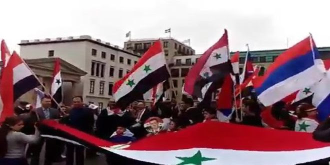sit-in-us-aggression-syrian-community-expatriates-berlin-europe