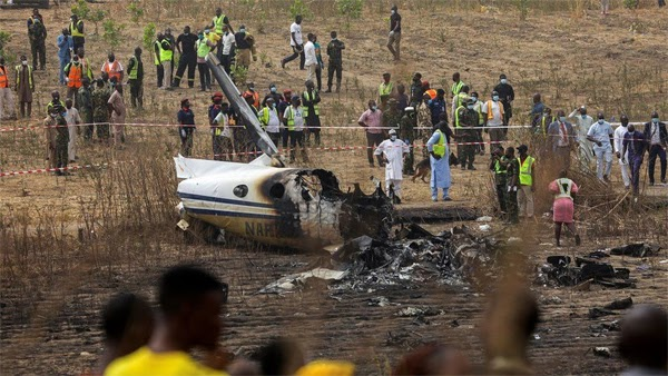 Victims of NAF plane crash for burial at National Military Cemetery today