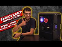 EKRAN KARTI FİYATINA EFSANE SİSTEM! | Ryzen 7 3700X & RX 6700 XT - Hardware Plus