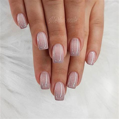 70  Wedding Natural Gel Nails Design Ideas for Bride 2019