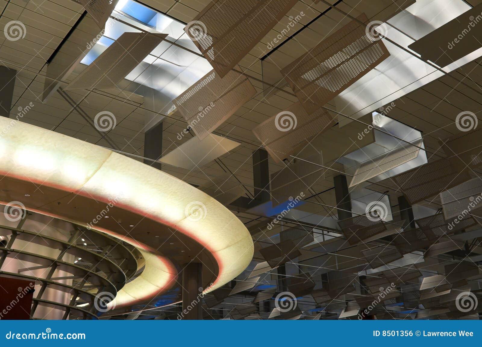 Futuristic Ceiling Royalty Free Stock Image - Image: 8501356