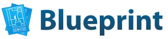 Logotipo del framework CSS Blueprint