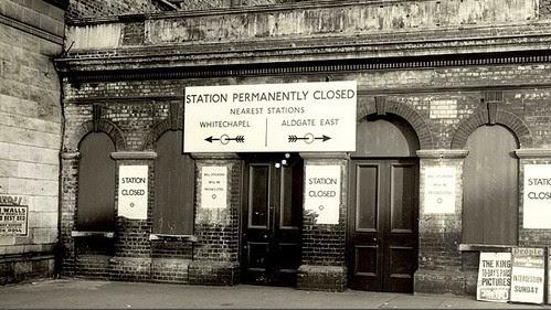 Rare tour inside St Mary's abandoned Tube Station