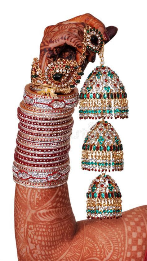 Indian Wedding Accessories Royalty Free Stock Photography