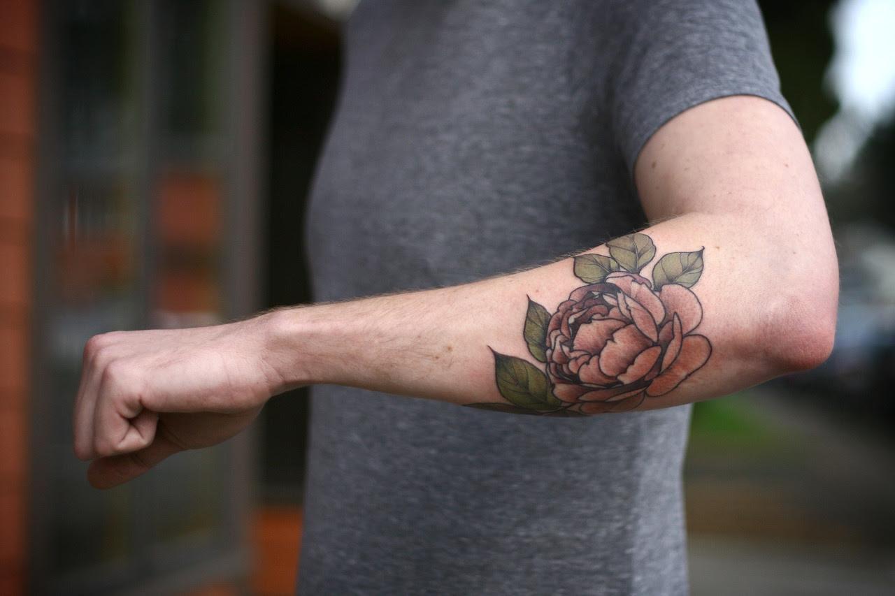 Elbow Lotus Flower Tattoo Best Tattoo Ideas Gallery