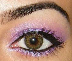 L.A. Minerals Purple Pink Iridescent Eye Shadow - Sexy Biotch: Beauty