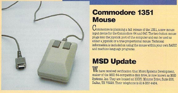 Noticia sobre Mouse 1351